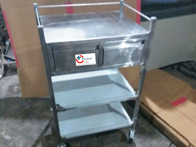 hospital dressing trolly