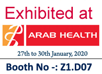 Meet us at ArabHealth 2020