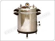 Portable Steam Autoclaves 800 DX II