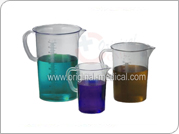 Graduated Pitchers Polymethylpentene