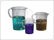 Graduated Pitchers-Polymethylpentene