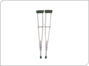 Auxillary Crutches (Height Adjustable)