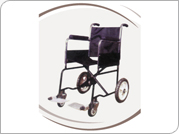 Invalid Wheel Chair Folding (Patient Attendant)
