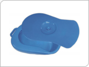 Bed Pan with Lid   Handle